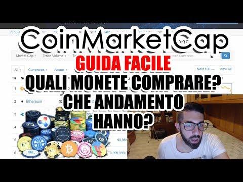 CoinMarketCap TUTORIAL COMPLETO - DOVE COMPRARE BITCOIN E LE ALTRE CRIPTOMONETE - ANDAMENTO - GUIDA