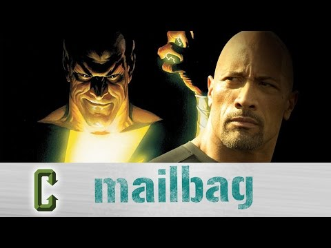 Collider Mail Bag - Is The Rock Still Going To Be A Part Of The DC Cinematic Universe?