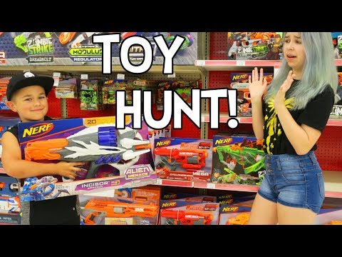 TOY HUNT, YES PLEASE! | RADIOJH AUTO & AUDREY!