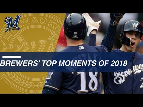 Check out some of the Brewers' top moments from 2018