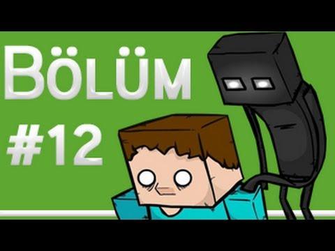 Burak Minecraft'ta Bölüm 12 - AA AAAA zehirlendim zehirlendim !!