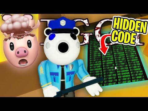 Secret Poley Skin Reading Codes Roblox Piggy Youtube