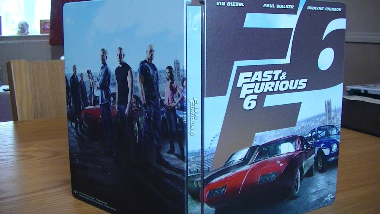 fast and furious 6 blu ray steelbook review youtube. Black Bedroom Furniture Sets. Home Design Ideas