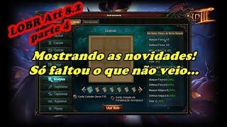 Legend Online BR: Att 8.2 ''Pedaço'' 4 - Mostrando as novidades