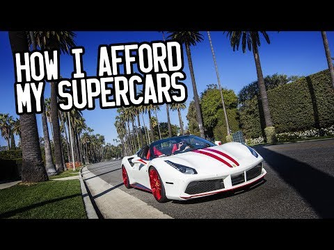 How I afford my supercars
