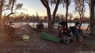 Our last amazing campsite for the trip! - Simpson Desert Unsupported WR250R Adventure! FINALE!