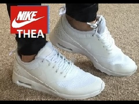 nike air max white thea mens