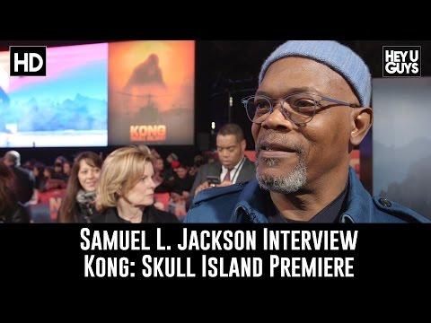 Samuel L. Jackson Interview - Kong: Skull Island Premiere
