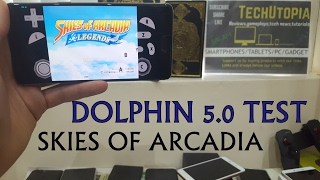 Skies of Arcadia Legends Android Gameplay Dolphin Emulator test Gamecube games Smartphone ONEPLUS 3T