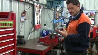 how to make a pontiac pinion flange holder j 8614 10