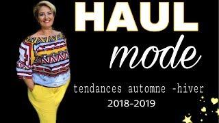 HAUL MODE RENTREE ✨ tendances 2018/2019 🌸 femmes 50 ans et + 💕
