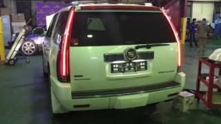 Escalade 2015 Tail lights on a 2012 Cadillac. Диодные фонари от 2015 года на Эскалэйд 900