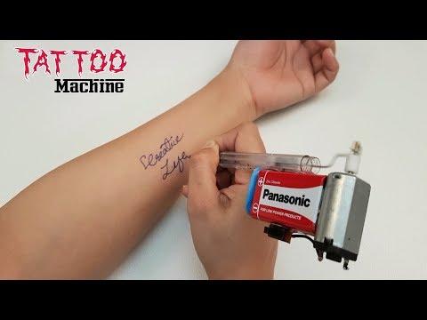 How To Make Tattoo Machine - Homemade (Creative Life)
