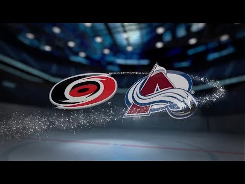 Carolina Hurricanes vs Colorado Avalanche - November 02, 2017 | Game Highlights | NHL 2017/18  Обзор