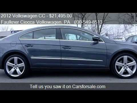2012 volkswagen cc lux limited pzev for sale in allentown youtube. Black Bedroom Furniture Sets. Home Design Ideas