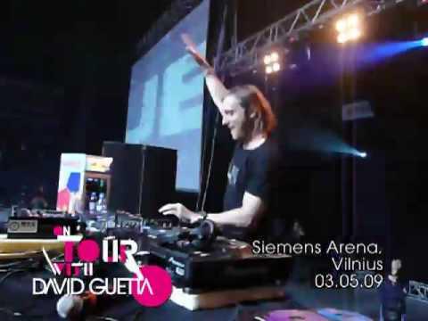 On Tour with David Guetta — 03.05.09 — Siemens Arena — Vilnius
