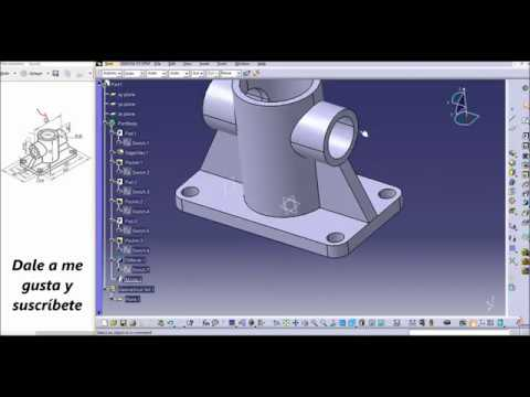 Catia V5. Part Design Tutorial. thumbnail