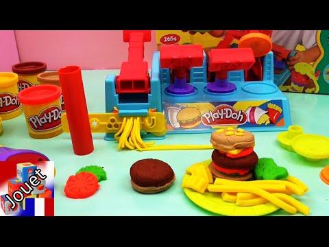 fabriquer soi m me des hamburger play doh appareil. Black Bedroom Furniture Sets. Home Design Ideas