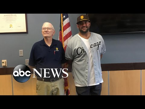 Retired police officer rescues man for a second time