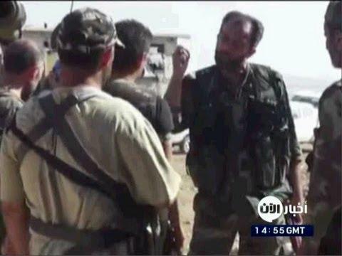 تلفزيون الآن يحصل من لواء داوود على صور لضباط إيرانيين منخرطين في حملة الأسد العسكرية