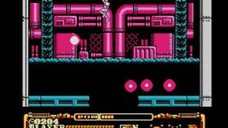 Power Blade 2 (NES) Boss 4 Rocket droid (No Damage)