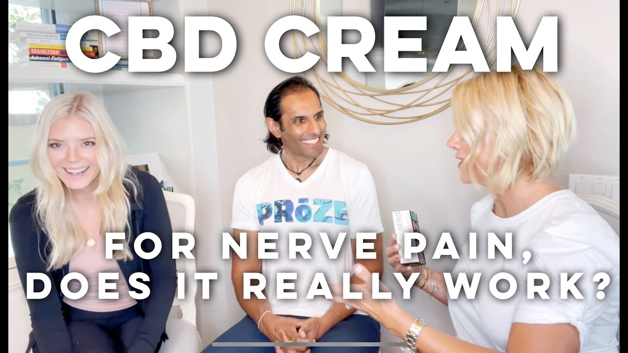 CBD Cream for Nerve Pain and Muscle Tightness | Does it Really Work?