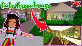 Building a Greenhouse in Bloxburg (Garden Update) - Roblox