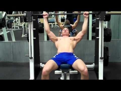 How To: Smith Machine- Incline Bench Press