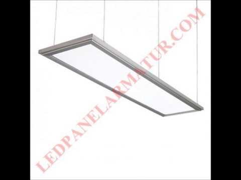 30x120 led panel armat r 50w tel 0532 668 2064 youtube. Black Bedroom Furniture Sets. Home Design Ideas