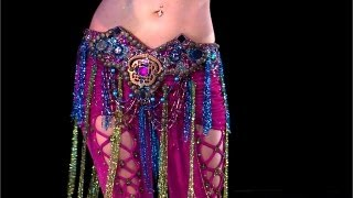 Belly Dance How to: 1-Hip Circle Move - Belly Dancing - with Neon