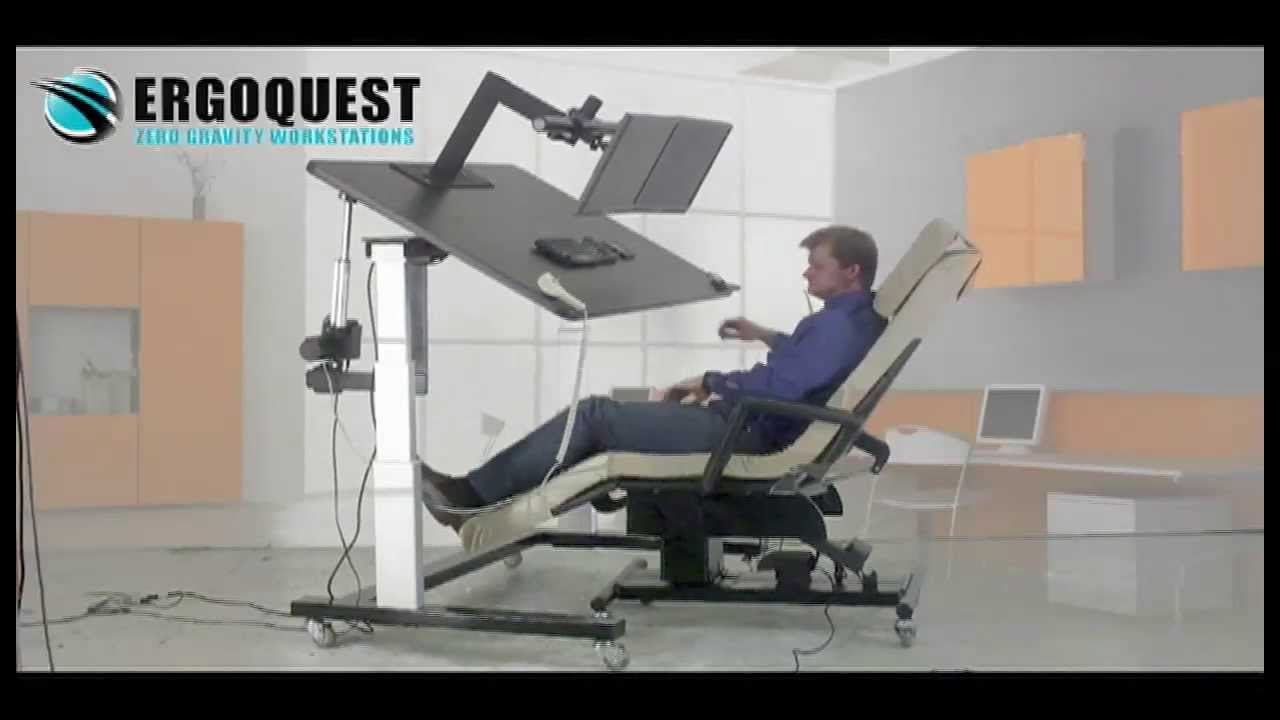 zero gravity chair recliner lounge costco and ergonomic desk - youtube