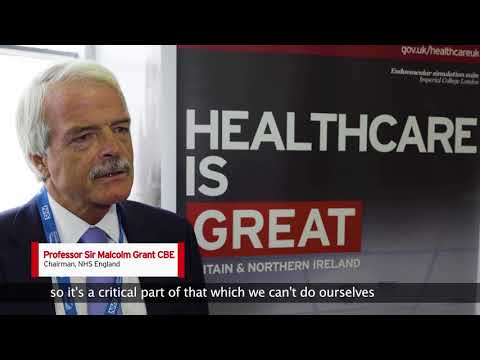 The role of Healthcare UK - Professor Sir Malcolm Grant