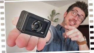 DAS ist die KLEINSTE Filmkamera! - Sony RX0 - Review