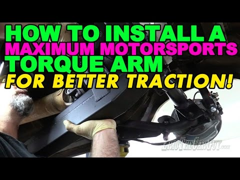 How To Install a Maximum Motorsports Torque Arm For Better Traction!