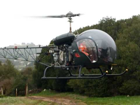 homebuilt helicopter flying in Greece