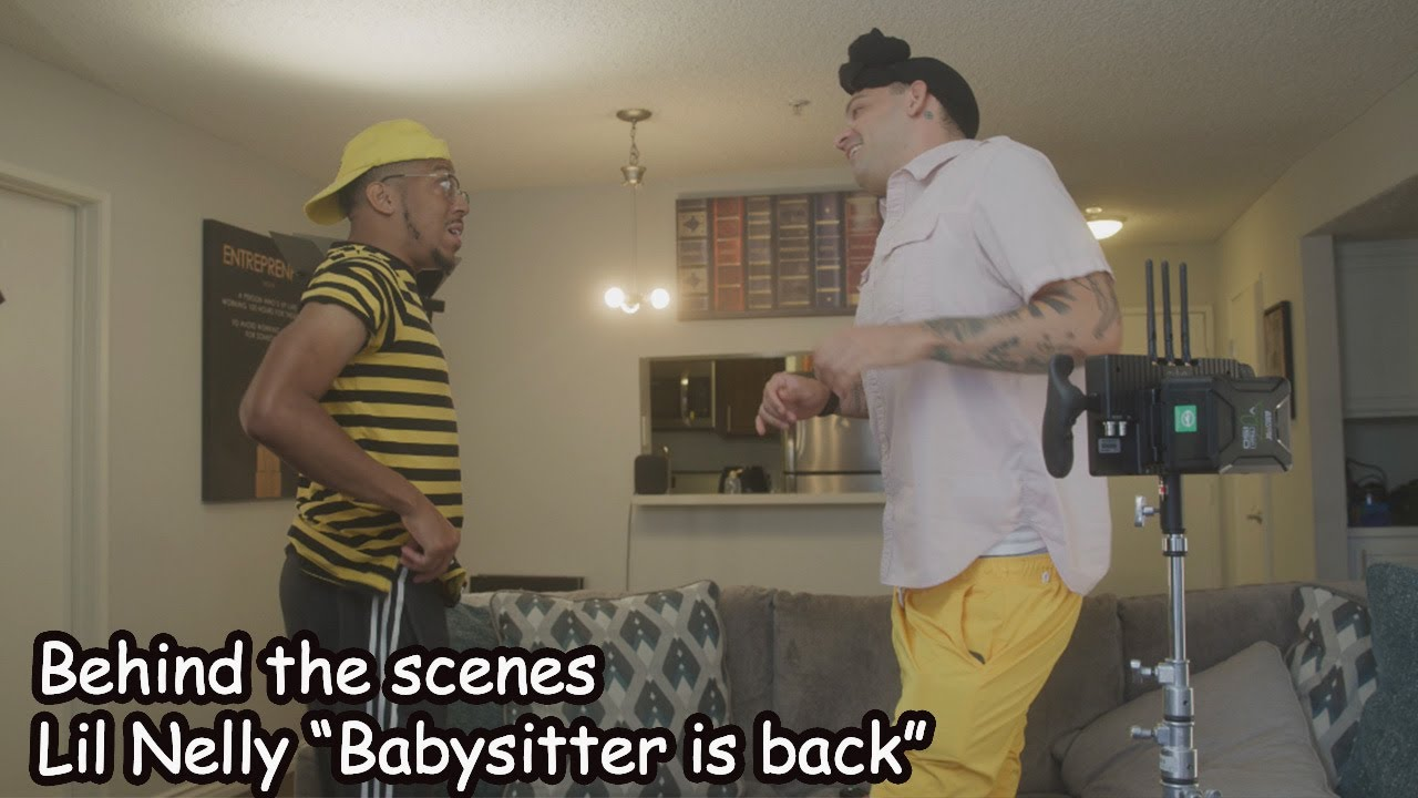 """Behind the scenes of Lil Nelly """"Babysitter is back"""""""