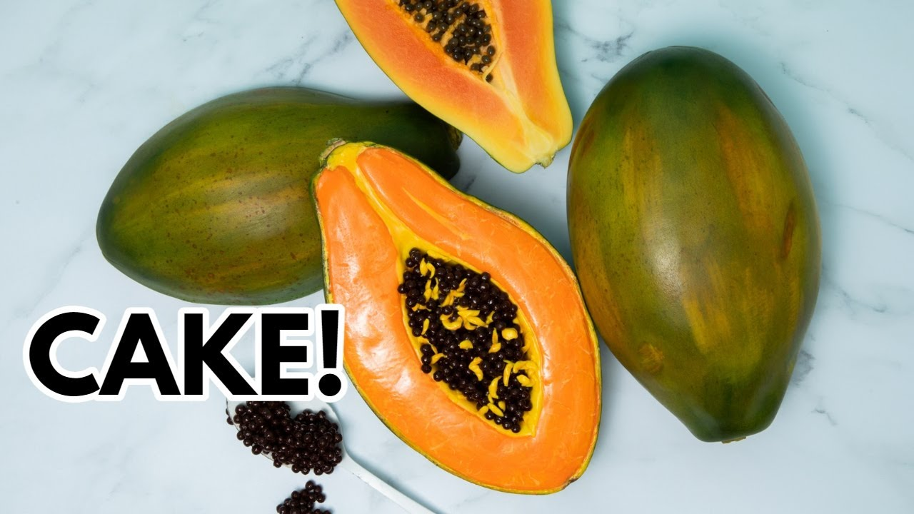 This Papaya is a CAKE! | How To Cake It Step By Step