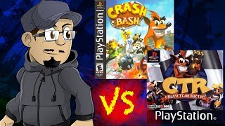 Johnny vs. Crash Team Racing & Crash Bash