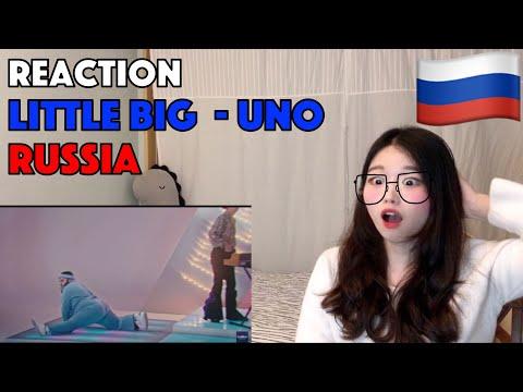 [Korean Reaction] Little Big - Uno - Russia 🇷🇺 - Official Music Video - Eurovision 2020