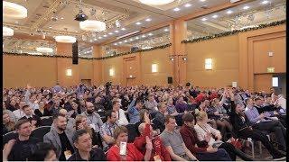 Состоялся XI Международный Форум профессионалов рынка натяжных потолков! Москва, 2018