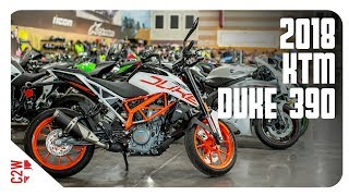 2018 KTM Duke 390 | First Ride