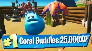 Coral Buddies Wood Age Quest (EASY 25,000 XP) - Fortnite Battle Royale