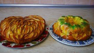 Быстрые рецепты пирогов пышные и вкусные Шарлотка и Нектарин пироги рецепты простые
