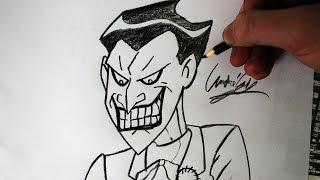 Como Desenhar o Coringa [JLH] - (How to Draw Joker) - SLAY DESENHOS #141