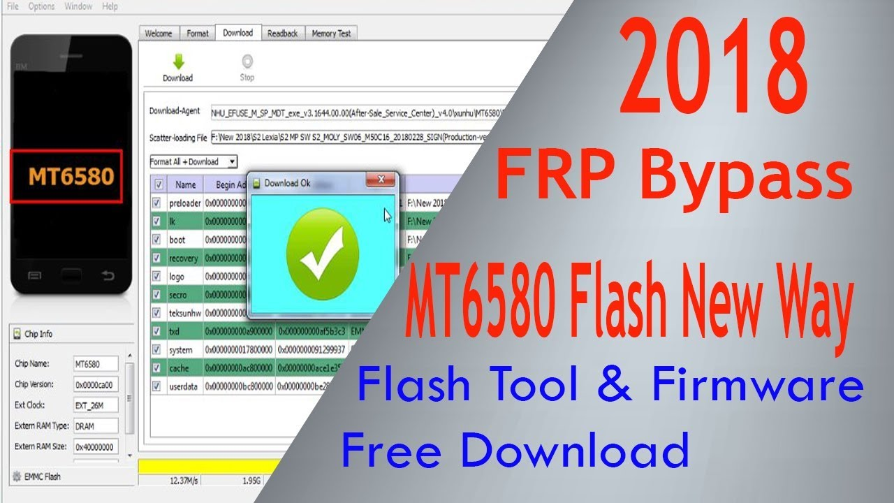 How to Fix MT6580 Flash Error 2018 With Free Download Link