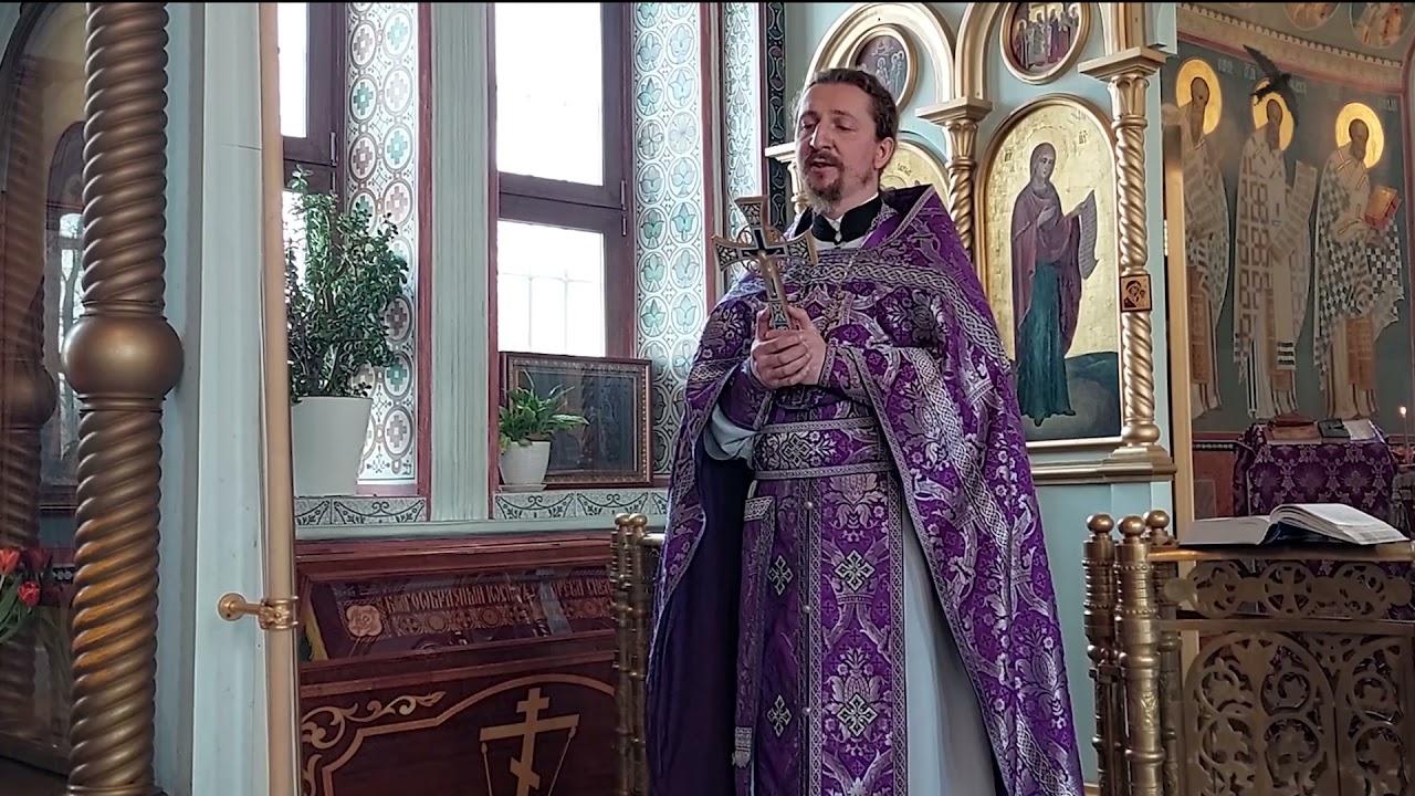 Торжество Православия. Проповедь.