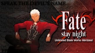Mouthwash Studios Fate Stay Night: Unlimited Blade Works Abridged E...