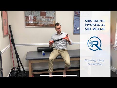 Shin Splints Self-Care | Myofascial Release | Salt Lake City Utah Sports Chiropractor