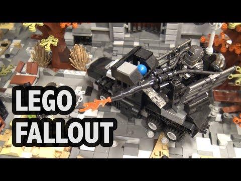 Fallout 4 Boston Public Library in LEGO