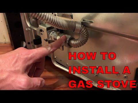 How to hook up a gas oven and not blow up your house!